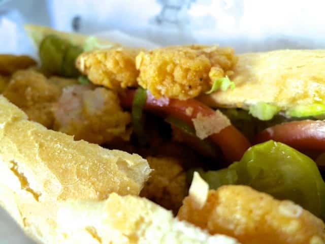 Golden Fried Shrimp Po Boy at Parkway Bakery and Tavern in New Orleans