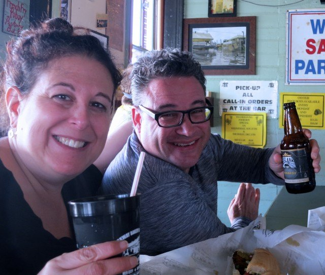 Cheers to Parkway Bakery & Tavern in New Orleans