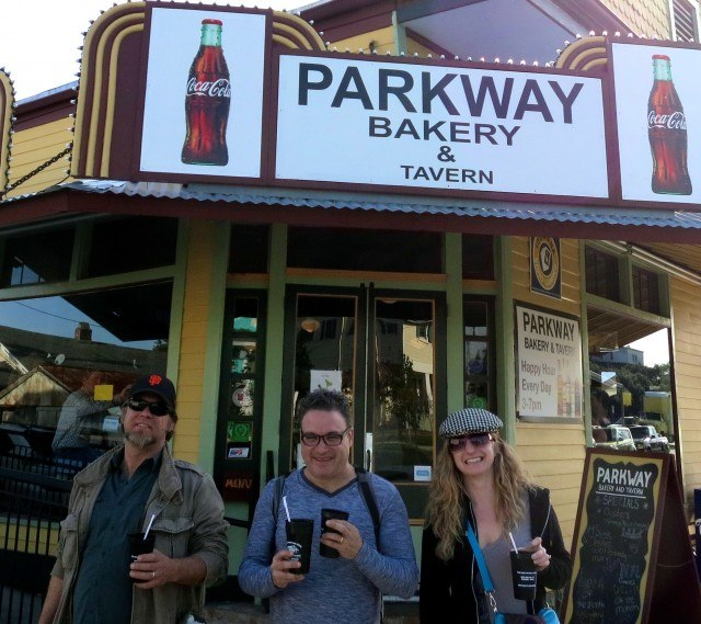 Drinks with Legs - Go Cups from Parkway Bakery and Tavern. Drinking in New Orleans