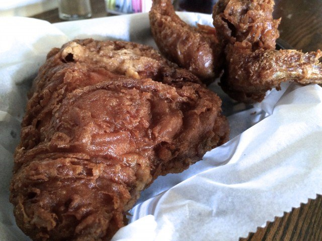 Fried Chicken at Willie Mae's Scotch House in New Orleans Louisiana