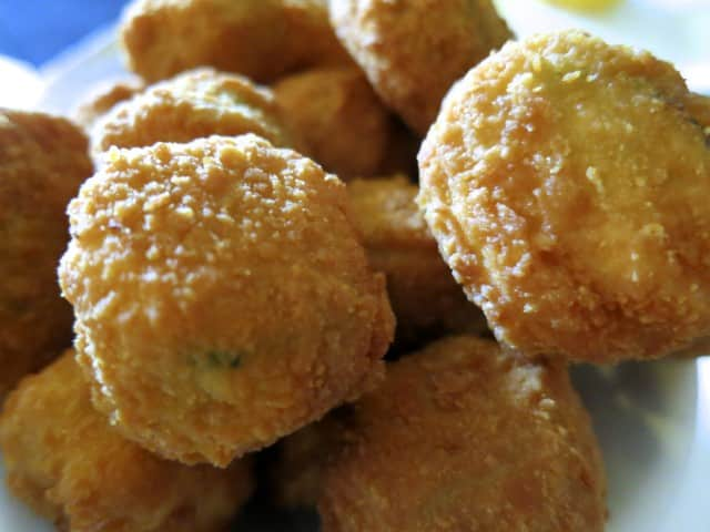 Fried Okra at Willie Mae's Scotch House in New Orleans Louisiana