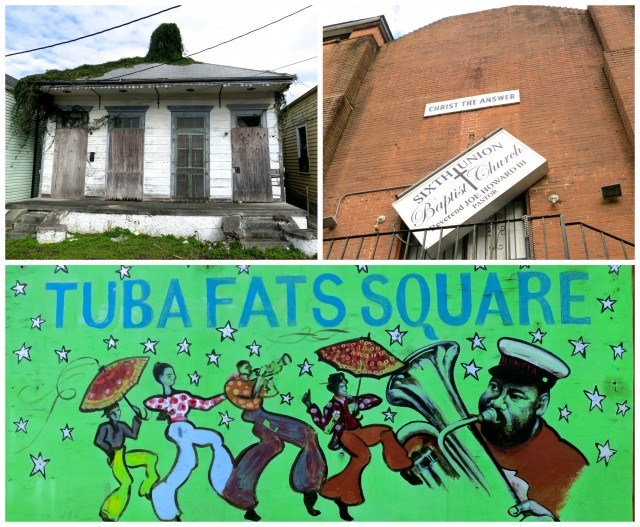 Views of the Treme Neighborhood on the Walk to Willie Mae's Scotch House Willie Mae's in New Orleans