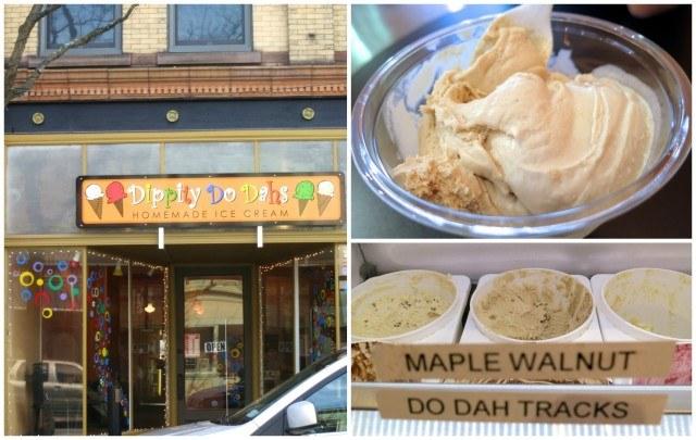 Ice Cream at Dippity Do Dahs in Corning, NY