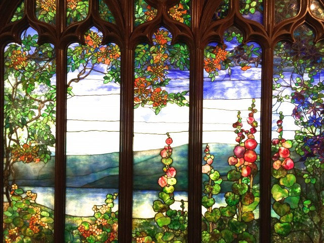 Tiffany Window at The Corning Museum of Glass