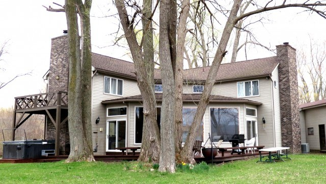 House on Honeoye Lake