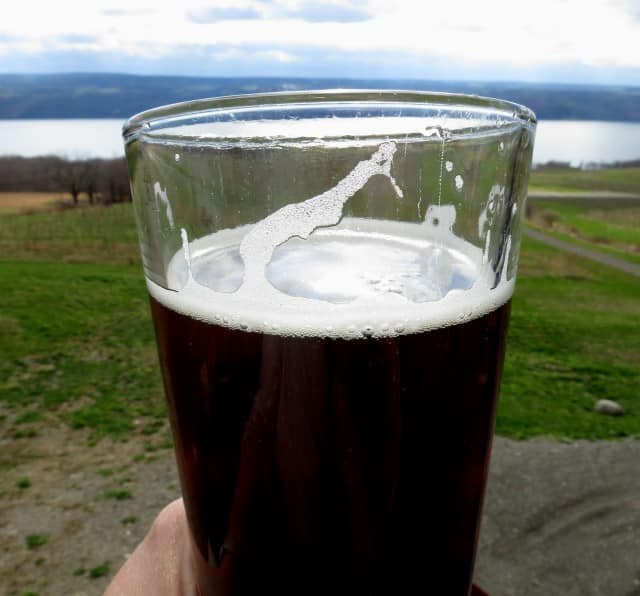 Beer by Seneca Lake