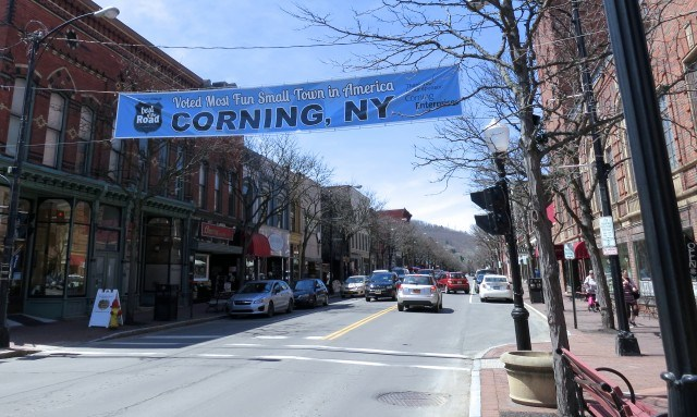 Downtown Corning New York