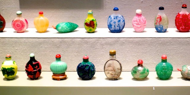 Snuff Bottles at The Corning Museum of Glass