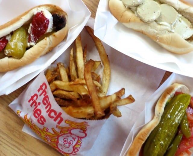 Hot Doug's Lunch