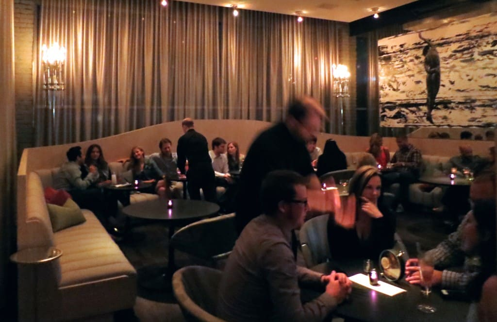 Lounge Bar at The Aviary in Chicago Illinois