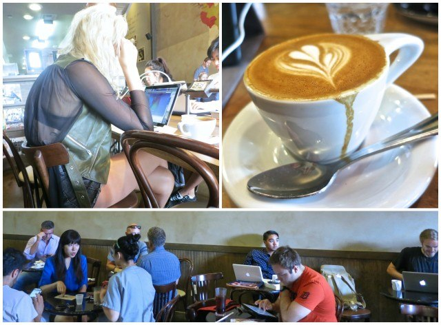 Coffee at Sambalatte in Las Vegas. Las Vegas Restaurants