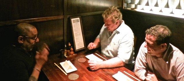 Esteemed Dining Companions at Raku in Las Vegas. Las Vegas Restaurants