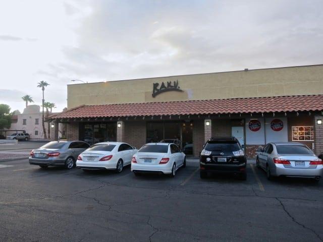 Raku in Las Vegas. Las Vegas Restaurants