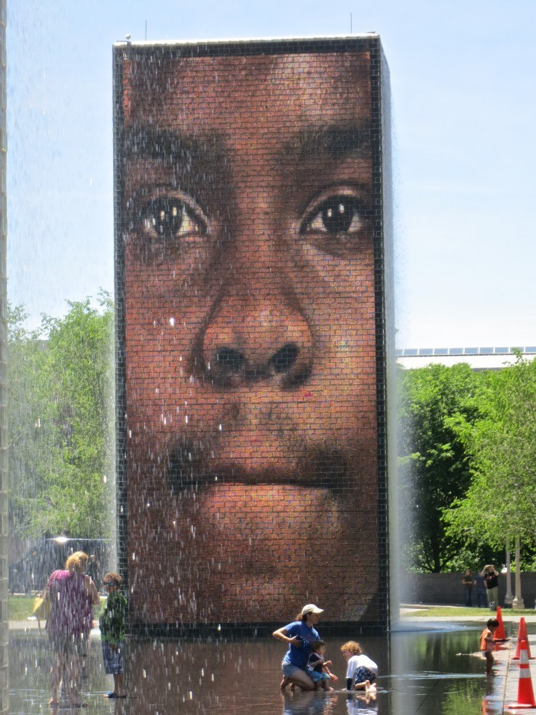 Crown Fountain in Chicago's Millenium Park Chicago Top 5 Reasons to Visit Chicago