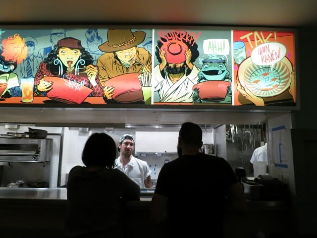 Bar Seats at Ivan Ramen New York City