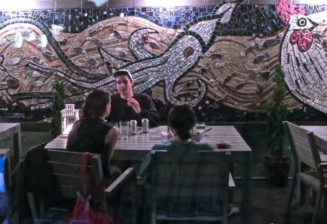 Outside Dining at Ivan Ramen New York City