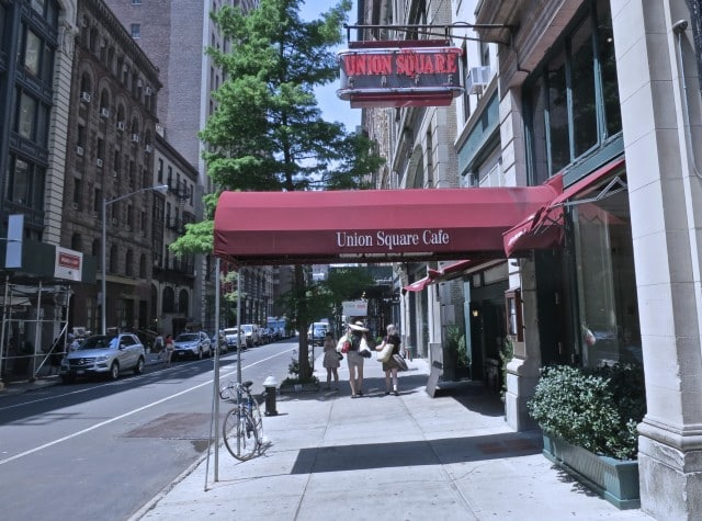 Union Square Cafe in New York