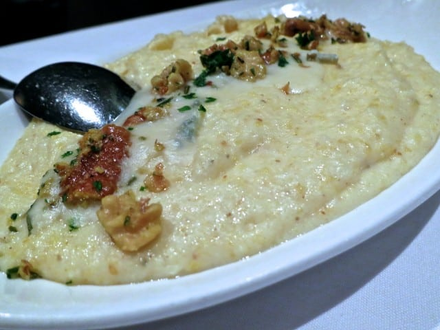 A Side to Share: Anson Mills Polenta with Gorgonzola and Walnuts