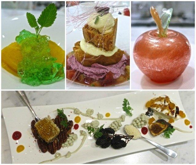 Desserts at Sweets Raku in Las Vegas