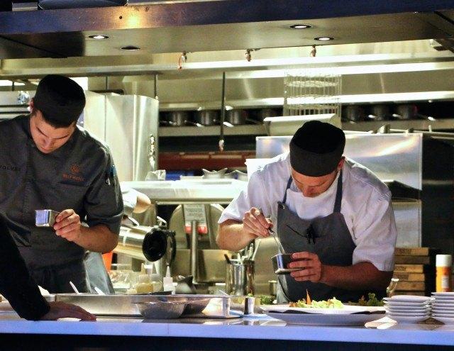 Sous Chefs at Volver Restaurant Philadelphia Pennsylvania