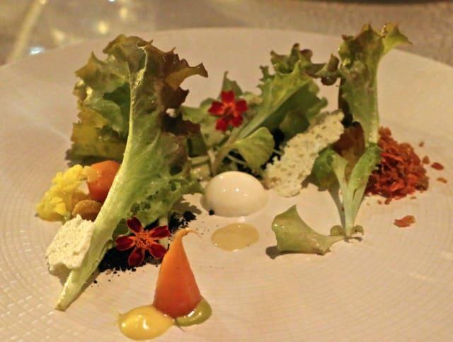 Salad at Volver Restaurant Philadelphia Pennsylvania