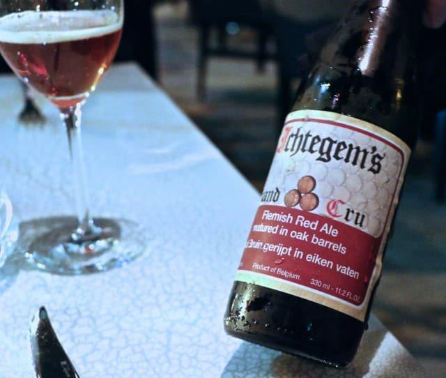 Flemish Red Ale at Volver Restaurant Philadelphia Pennsylvania