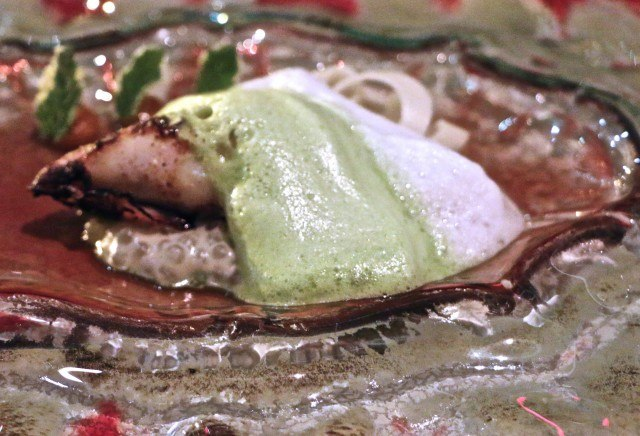 Monterey Bay Squid at Volver Restaurant Philadelphia Pennsylvania