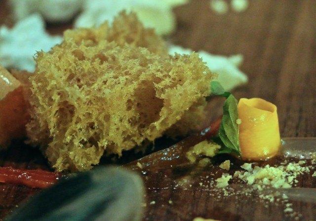 Carrot Cake at Volver Restaurant Philadelphia Pennsylvania