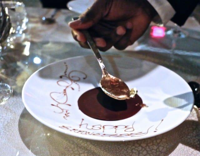 Chocolate at Volver Restaurant Philadelphia Pennsylvania