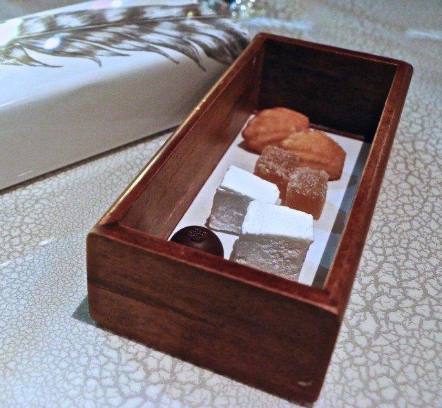 Petits Fours at Volver Restaurant Philadelphia Pennsylvania