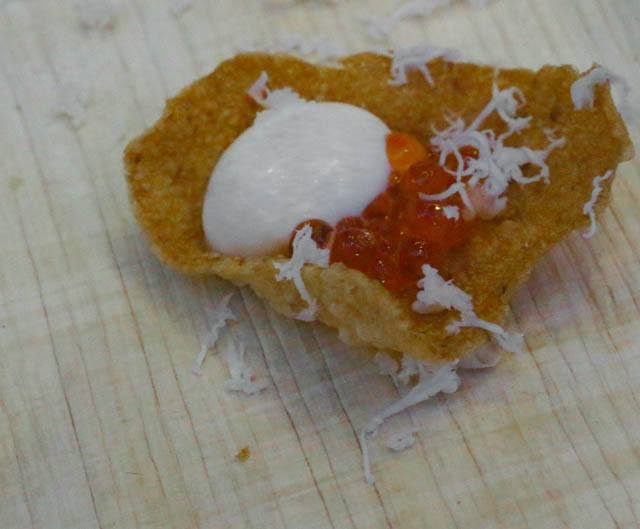 Lacroix - Matsutake Mushroom Cracker Feastival 2014