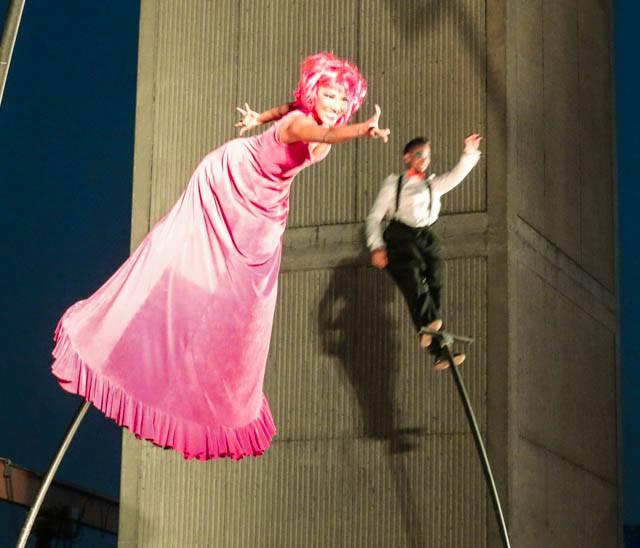Swirling Acrobats Feastival 2014