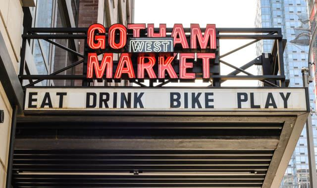 Gotham West Market in NYC