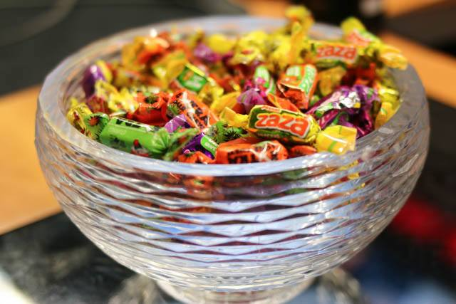 Candy Bowl at B&H in NYC
