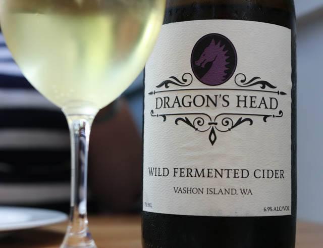 Dragon's Head Wild Fermented Cider (6.9%) Bar Sajor Seattle