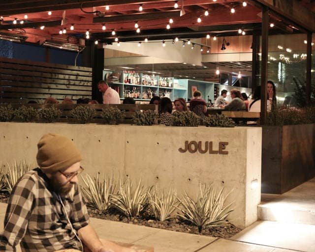 Joule, a Modern Korean Restaurant in Seattle (Note, local hipster not added for affect.)