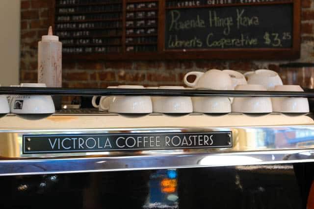 Inside Victrola Coffee Roasters in Seattle Washington