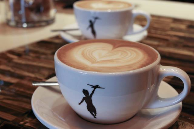 Cappuccino at Storyville in Seattle Washington