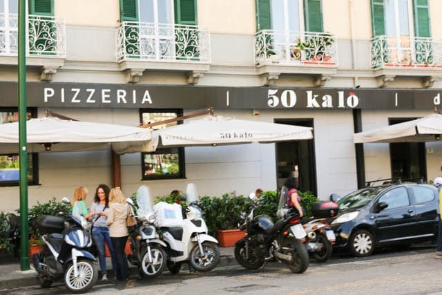 50 Kalò - Naples Pizzeria Serving up World Class Pizza in a Trendy Setting. Naples Best Pizza in the World. best pizza in naples italy