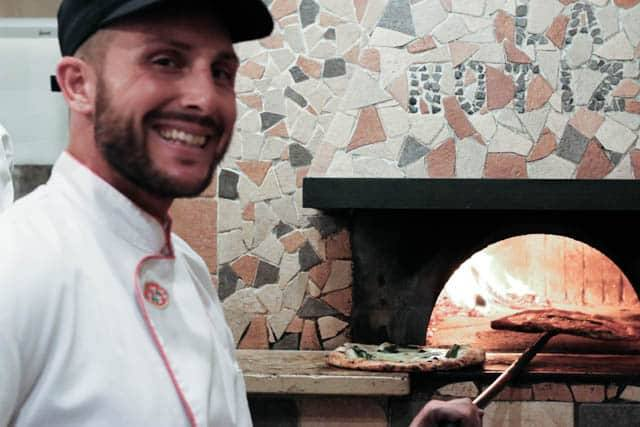 Domed Pizza Oven at Pizzaria La Notizia - Where the Magic Happens. Naples Best Pizza in the World. best pizza in naples italy
