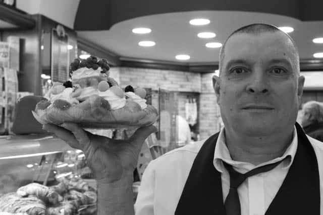 Pastry Chef in Naples Italy