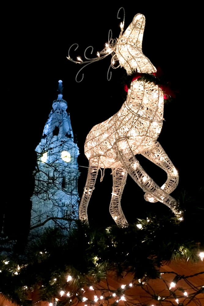The Christmas Village in Philadelphia is the next best thing to being in Europe for the holidays. This annual event has food, shopping and sparkly lights.