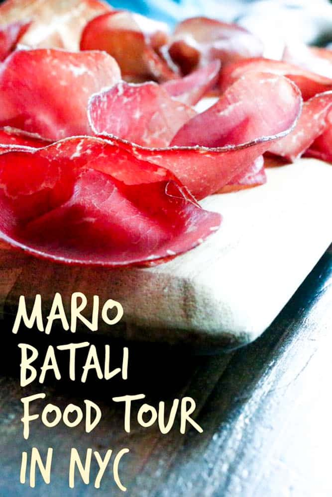 The Mario Batali Food Tour is a great way to experience NYC's thriving Greenwich Village with good food and interesting stories.