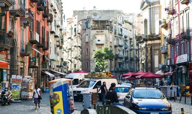 Naples Street Scene