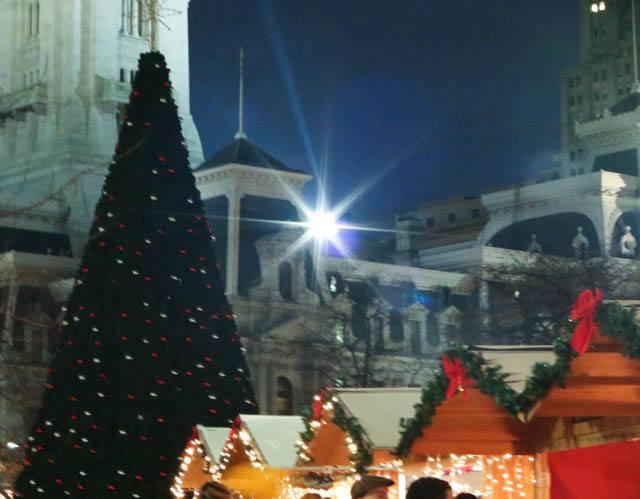 Christmas Village - Sparkly and Festive Philadelphia