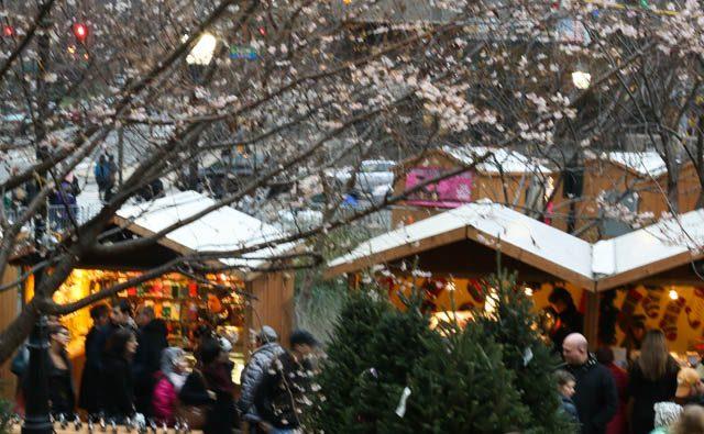 Stands - Christmas Village in Philadelphia