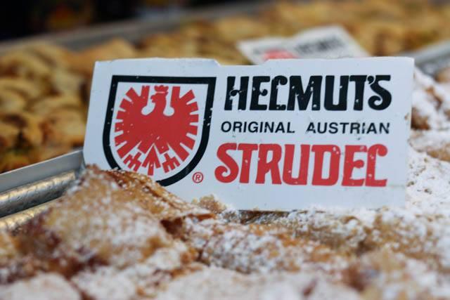 Helmut's Original Austrian Strudel from Austria at the Christmas Village in Philadelphia