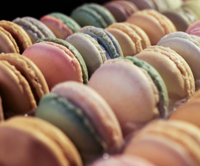 Macarons at the Christmas Village in Philadelphia