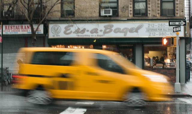 Original Ess-a-Bagel Shop on First Avenue in New York City