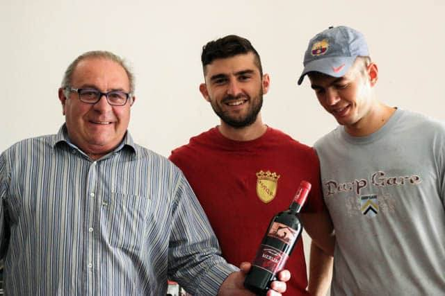 Two Generations of Paternoster Winemakers in Basilicata Italy